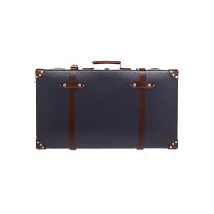Medium net a porter globe trotter centenary 30  leather trimmed fiberboard suitcase