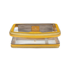 Medium anya hindmarsh inflight in clearmustard plastic with capra trim 1