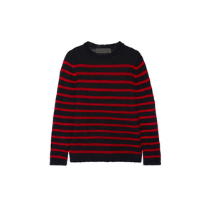 Medium the elder statesman picasso striped cashmere sweater