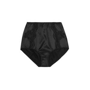 Medium dolce   gabbanalace paneled stretch silk satin briefs2