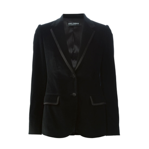 Medium dolce and gabbana velvet blazer