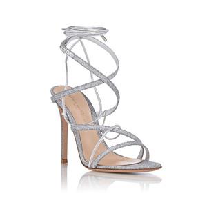 Medium gianvito rossi glitter ankle strap sandals r