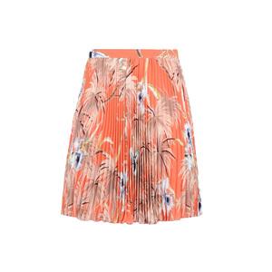 2710c8a3eec5a4 Valentino. Hawaiian Orchidea print pleated skirt · Medium equipment  signature leopard print washed silk shirt