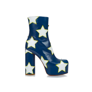 Medium vetementsstars leather platform boots