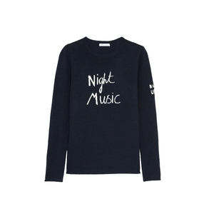Medium bella freud night music merino wool sweater