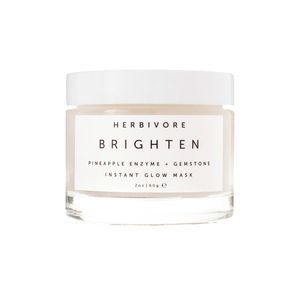 Medium herbivore botanicalbrighten pineapple   gemstone mask