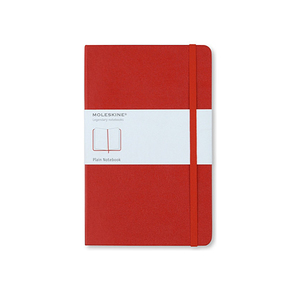 Medium moleskinelarge plain notebook 2