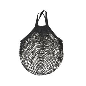 Medium afteronline net string bag black