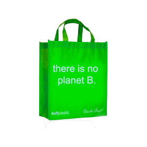 Medium eff plastic there is no planet b.