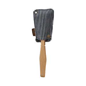 Medium bambuhome utensil travel sets wth eco conscious pouch
