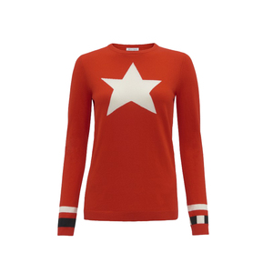 Medium bella freud kings road jumper red