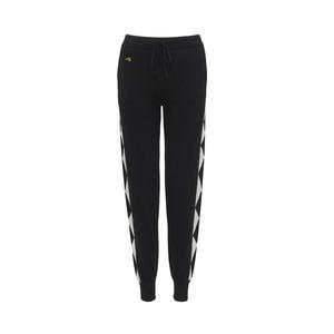 Medium bellafreud harlequin track pants black