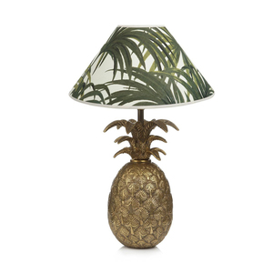 Medium  house of hackney palmeral brass pineapple lamp white green. 481.31jpg