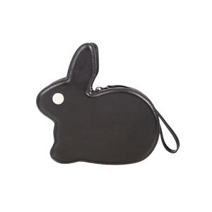Medium hillier bartley bunny leather clutch