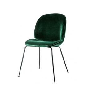 Medium conranshop gamfratesi beetle dining chair green velvet