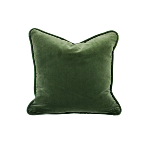 Medium dixieandgrace forest green velvet cushion df7aac34 6777 420d a308 1e0e1578acba