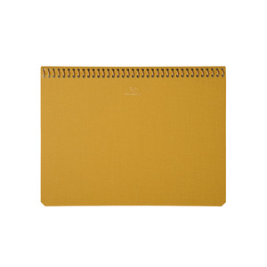 Medium postalco notebook yellow