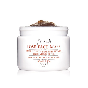 Medium fresh rose face mask