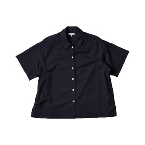 Medium margaret howell women ss16 pj shirt washed cotton navy