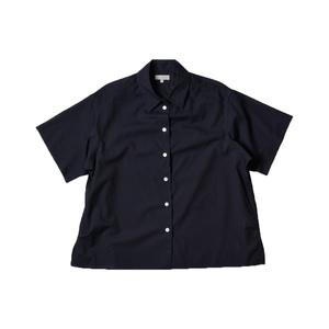 Medium margaret howell women ss16 pj shirt washed cotton navy