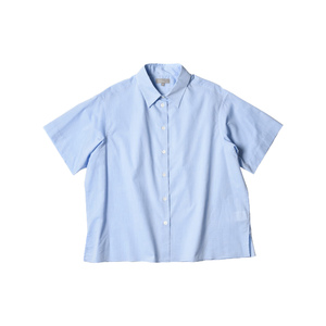 Medium margaret howell women ss16 pj shirt washed cotton sky