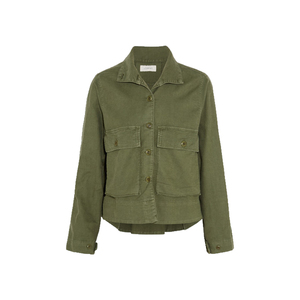 Medium the great the swingy army canvas jacket