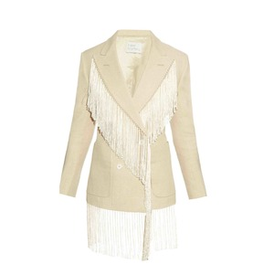 Medium fringed blazer