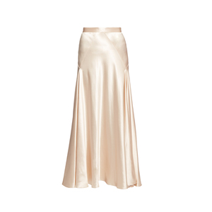 Medium hillier bartleyhigh waisted satin skirt