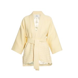 Medium matches hillierbartleywaffle texture belted kimono jacket