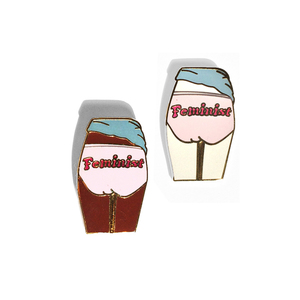 Medium it s me and you feminist undies pin