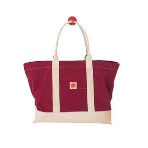 Medium pacific tote company leather   canvas  big sur  tote