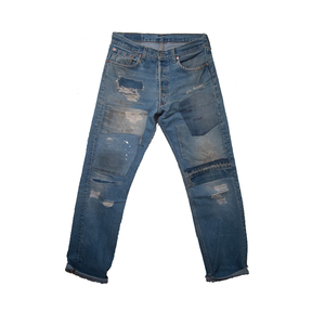 Medium joswick denim vintage customised jeans