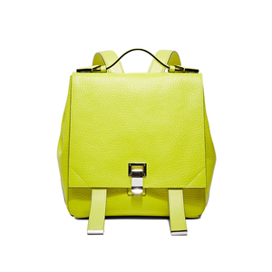 Medium ln cc proenza schouler courier backpack in acid yellow