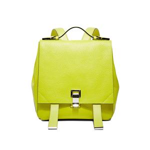 Medium ln cc proenza schouler courier backpack in acid yellow