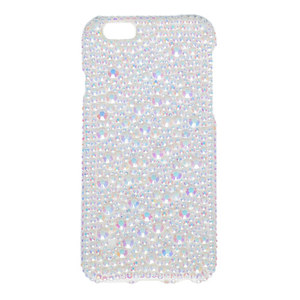 Medium claire s accessories white crystal phone case  iphone 6 6s