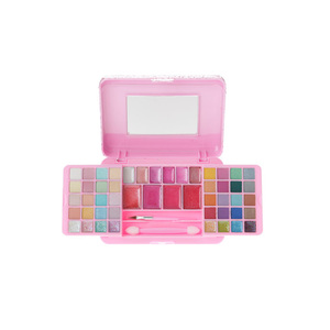 Medium claire s acessories   pink glitter cosmetics set