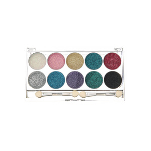 Medium claires accessories 10piece bright glitter eyeshadows
