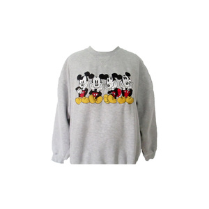 Medium etsy 90 s mickey mouse sweatshirt vintage disney shirt 1990 s embroidered mickey mouse sweatshirt
