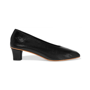 Medium martiano high glove leather pumps