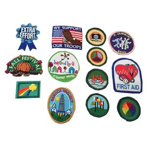 Medium vintage girl scout badges