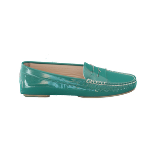 Medium tenoversix maryam nassir zadeh lily loafer green patent