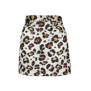 Medium topshop leopard print mini skirt