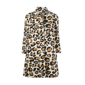 Medium farfetch marc by marc jacobs leopard print coat