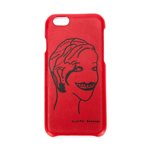 Medium farfetch claire barrow portrait motif iphone case