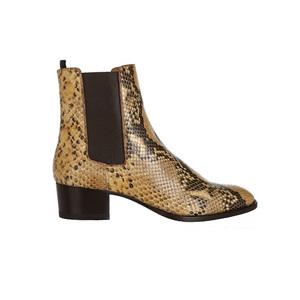 Medium netaporter ysl blake python effect ankle boots