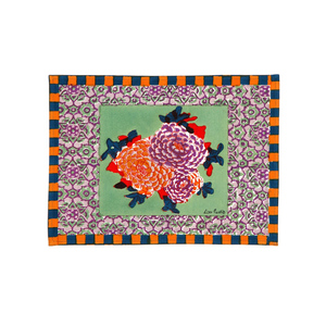 Medium lisacorti place mat 35x48 corolla frida green