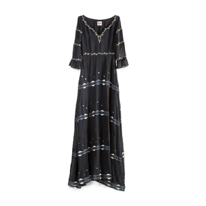 Medium sirenuse romantic embroidery anita dress