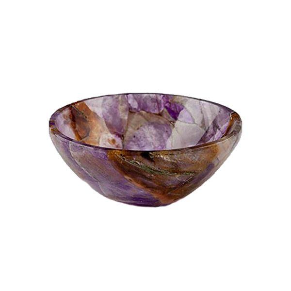 Large creelandgow amethyst bowl
