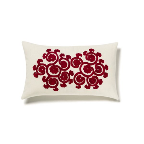 Large sirenuse rectangular cotton pillow case   flower