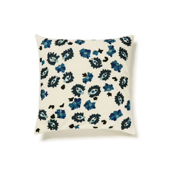 Large sirenuse square cotton pillow case   sparse